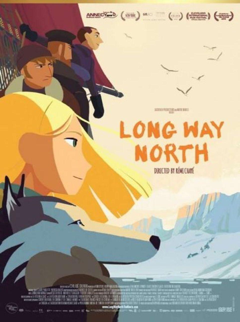 """ภ.แอนิเมชัน """"ผจญสุดขั้วโลก"""" (LONG WAY NORTH)"""