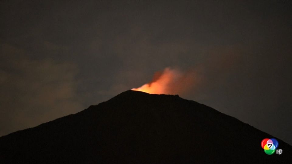 ภูเขาไฟปากายา ในกัวเตมาลา ปะทุ พ่นลาวาและเถ้าถ่าน ส่งควันหนาทึบปกคลุมท้องฟ้า