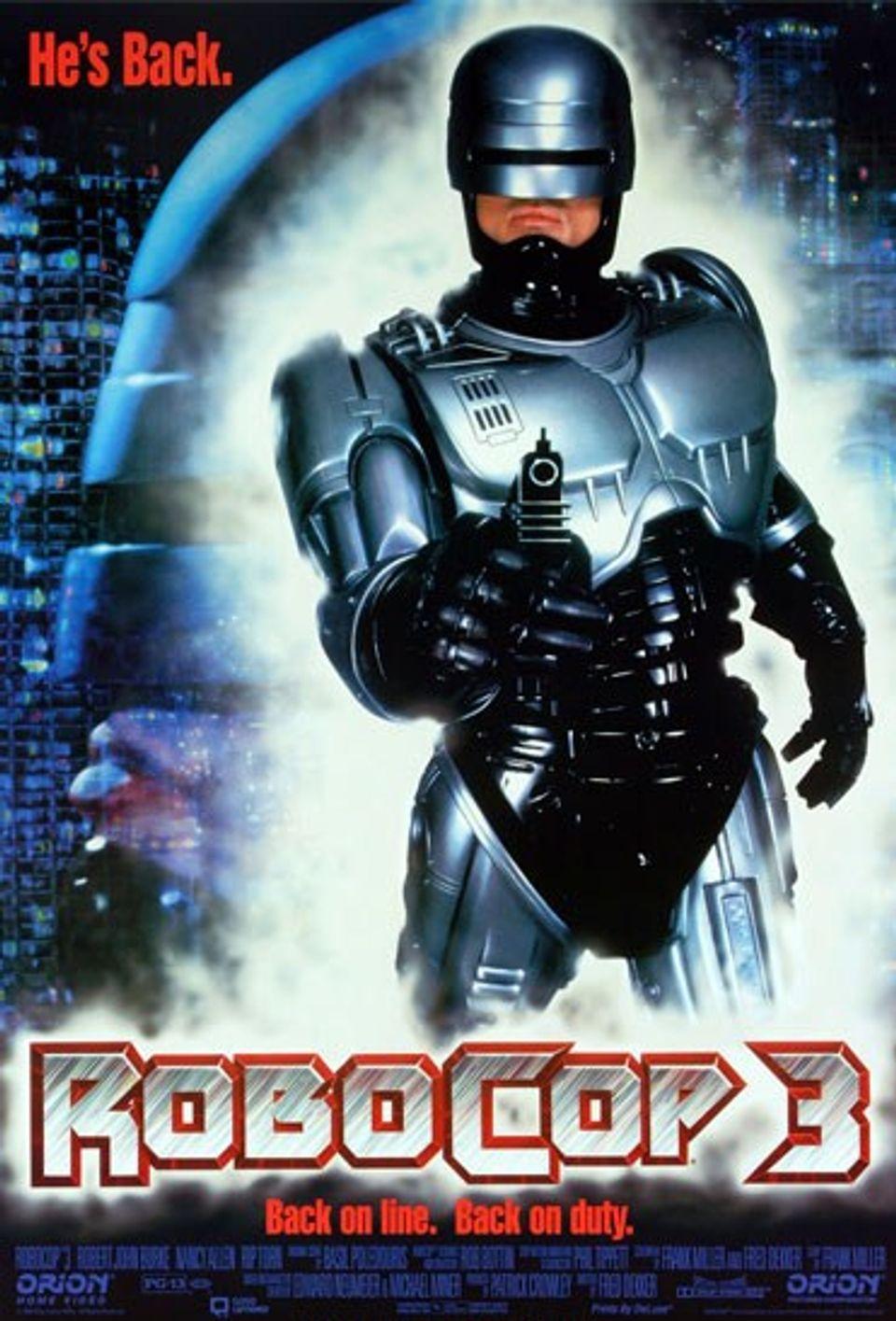 """ภ.ฝรั่ง """"โรโบคอป 3 สงครามผ่าเมือง"""" (ROBOCOP 3)"""