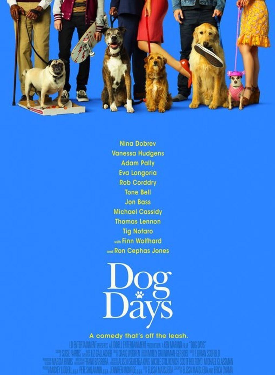 """ภ.ฝรั่ง """"DOG DAYS วันดีดี รักนี้...มะ(หมา) จัดให้"""""""