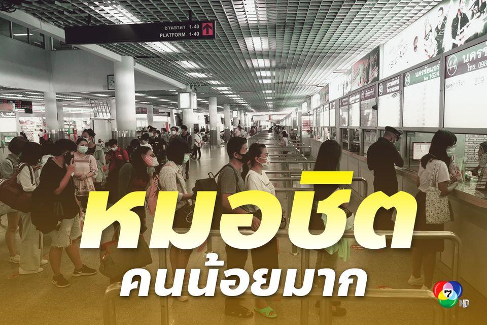 บขส.เผยผู้โดยสารเดินทางหยุดยาวชดเชยสงกรานต์ต่ำกว่าที่คาดไว้