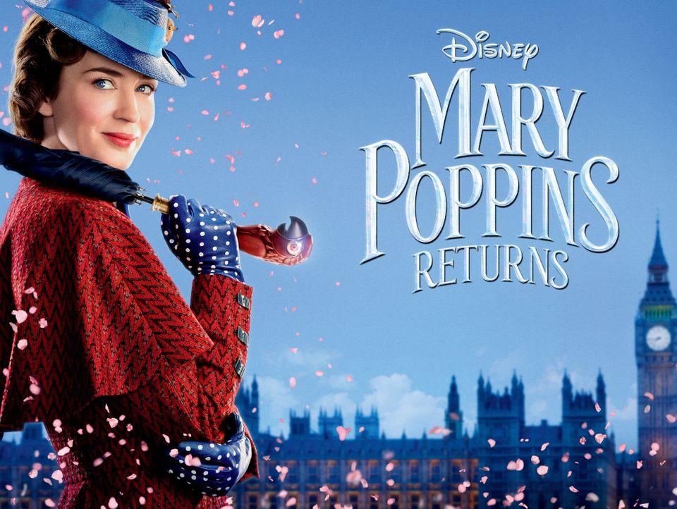 """ภ.ฝรั่ง """"Mary Poppins Returns : แมรี่ ป๊อปปิ้นส์ กลับมาแล้ว"""" (MARY POPPINS RETURNS)"""