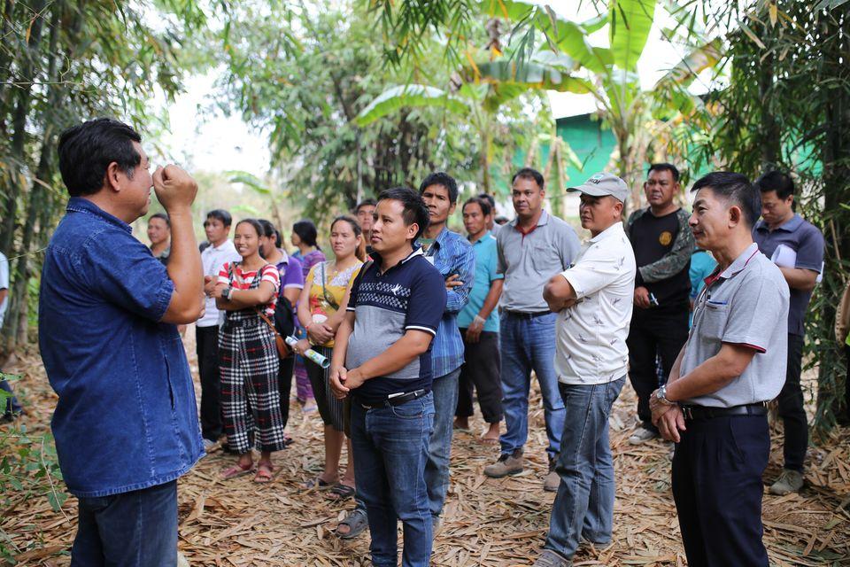 โครงการปลูกไผ่คืนผืนป่า สร้างอาชีพ โดย บริษัท สหโคเจน (ชลบุรี) จำกัด (มหาชน) และบริษัทย่อย