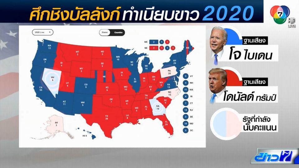 ทรัมป์ ยังอ้างชนะเลือกตั้งประธานาธิบดีสหรัฐฯ