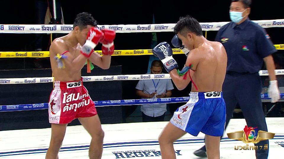 มวยเด็ด วิกหมอชิต : ผลมวยไทย 7 สี 8 พ.ย.63 คูโบต้า อ.พิมลศรี vs เพชรแสนแสบ วีระพลบ้านมวยไทย