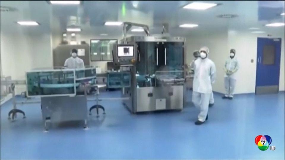 นายกรัฐมนตรีอินเดีย ตรวจโรงงานผลิตวัคซีนต้านโควิด-19