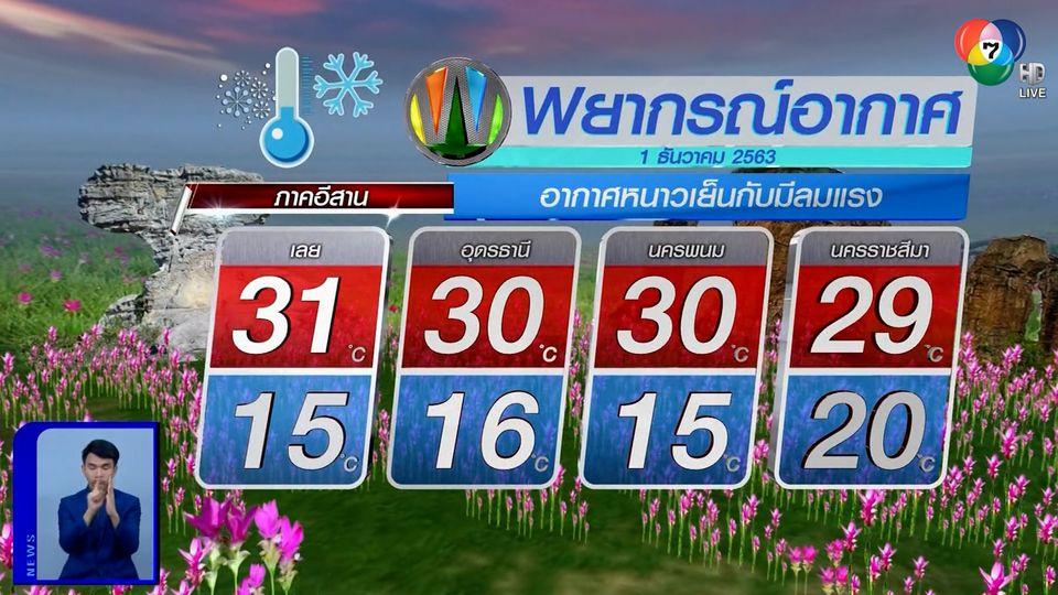 ฝนฟ้าอากาศ 30 พ.ย.63