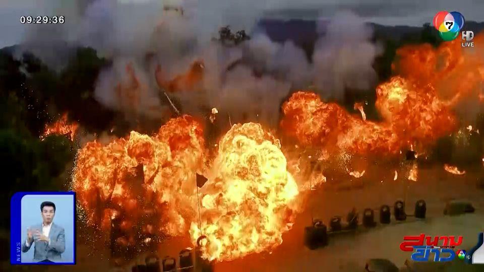 โอริเวอร์ ทุ่มทุนสร้าง! ขนระเบิด 120 ลูก ปิดฉากตัวละครสำคัญในละคร ล่า ท้า ชน : สนามข่าวบันเทิง