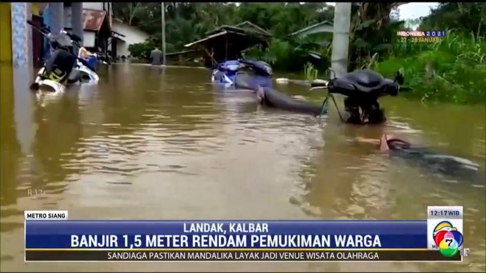 อินโดนีเซียเผชิญน้ำท่วมหนัก