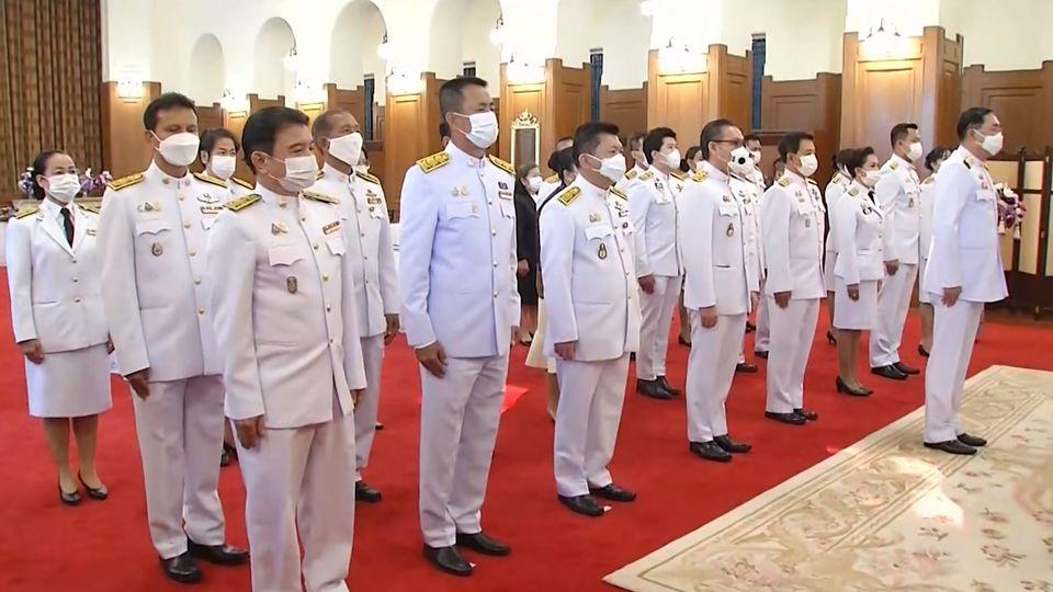 คณะบุคคล และผู้แทนหน่วยงานต่าง ๆ ร่วมลงนามถวายพระพร สมเด็จพระกนิษฐาธิราชเจ้า กรมสมเด็จพระเทพรัตนราชสุดาฯ สยามบรมราชกุมารี