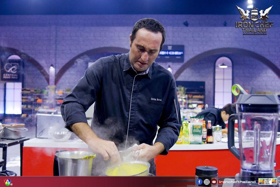 เชฟรุ่นเก๋า chef Christion Martena  บุก คิทเช่นสเตเดี้ยม