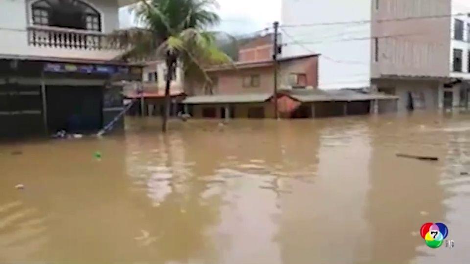 โบลิเวีย เผชิญน้ำท่วมหนัก-ผู้นำอินโดฯลงพื้นที่ตรวจน้ำท่วม