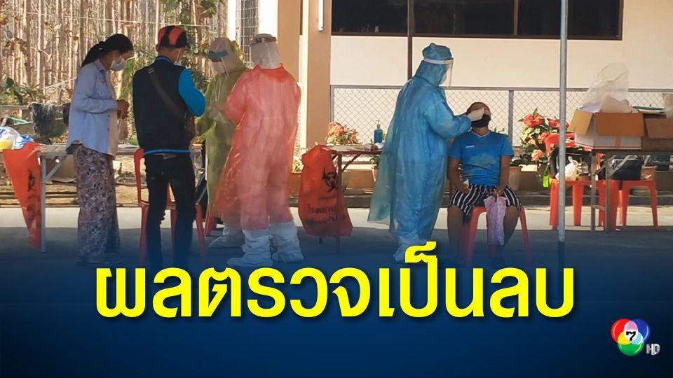 ผลตรวจโควิดคนไทย-แรงงานชาวเมียนมาร่วม 500 คน ที่แม่สอด เป็นผลลบ