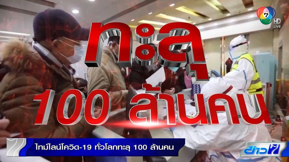 รายงานพิเศษ : ไทม์ไลน์โควิด-19 ทั่วโลก ทะลุ 100 ล้านคน