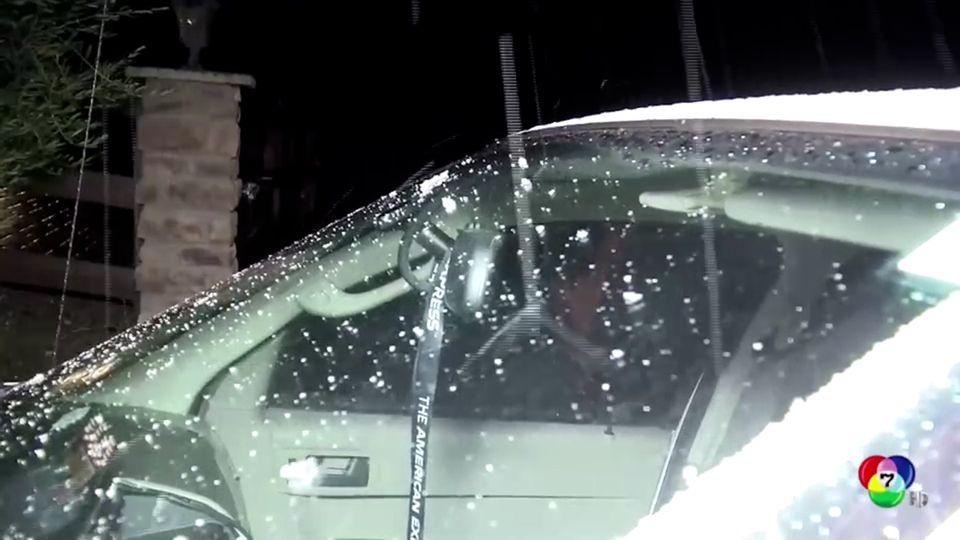 พายุฝน-หิมะ พัดถล่มรัฐแคลิฟอร์เนีย สหรัฐฯ