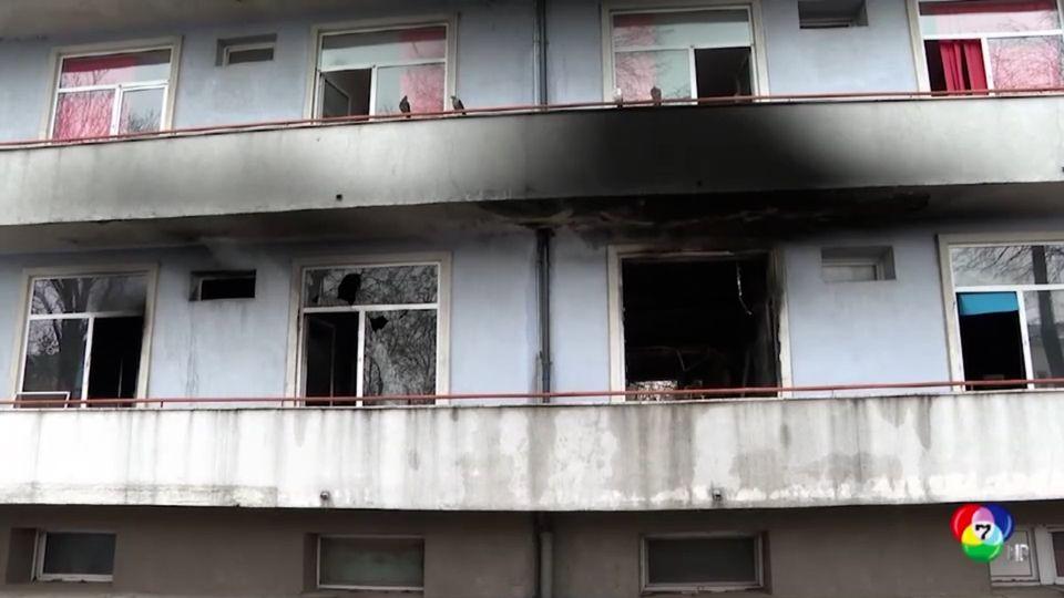 ผู้นำโรมาเนียเรียกร้องปฏิรูประบบสาธารณสุข หลังเกิดเพลิงไหม้ในโรงพยาบาล