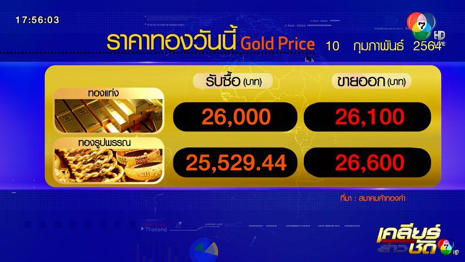 ราคาทอง-หุ้น-น้ำมัน 10 ก.พ.64