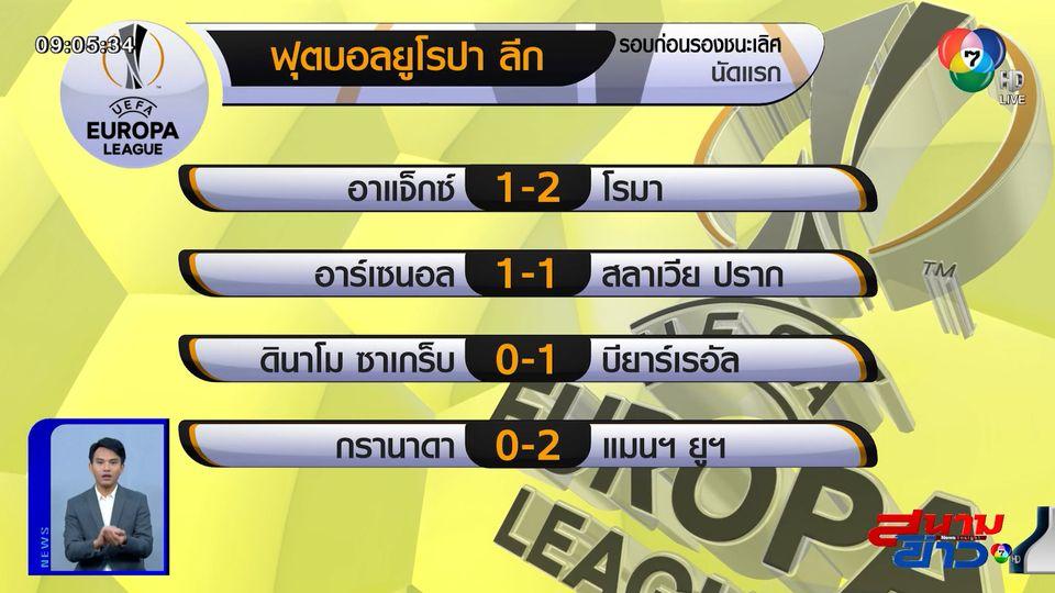 ตามเป้า! แมนยู บุกอัด กรานาดา 2-0 นัดแรก 8 ทีม ยูโรปา ลีก