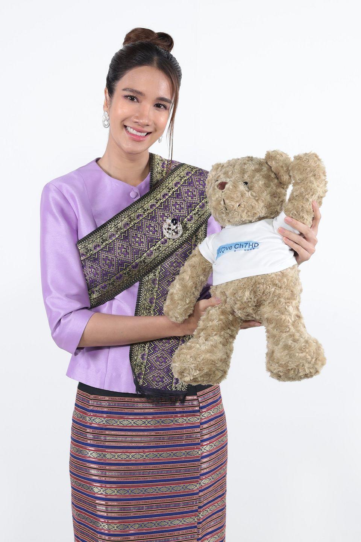 """""""เนย ปภาดา"""" ชวนถ่ายคลิป ร่วมสนุกลุ้นรับของรางวัล ในกิจกรรม """"7HD รักษ์ประเพณีปีใหม่ไทย"""""""