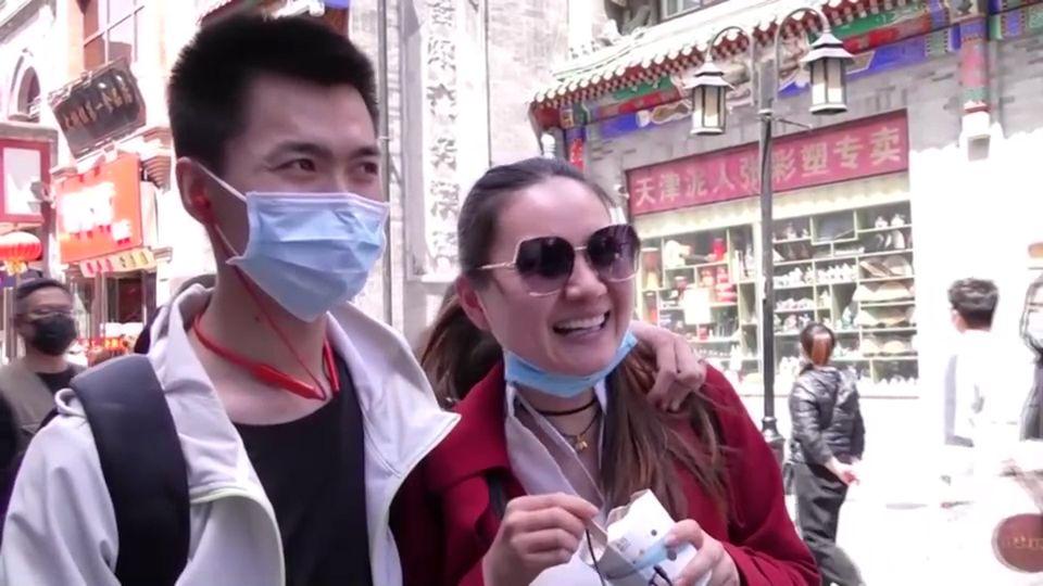 ชาวจีนแห่เดินทางกลับบ้านเกิด ในวันแรงงานสากล