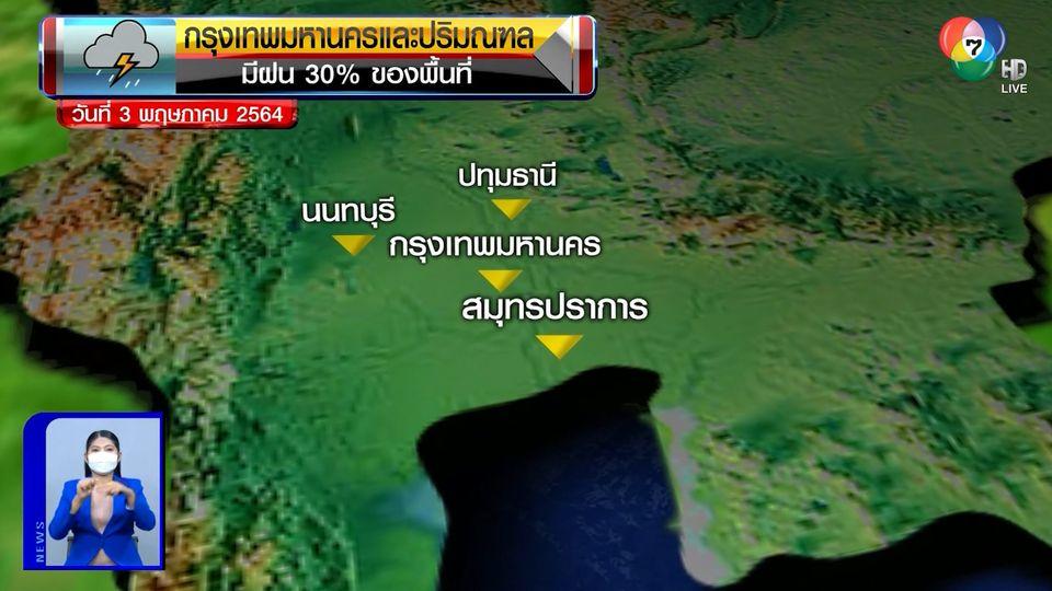 ฝนฟ้าอากาศ 2 พ.ค.64