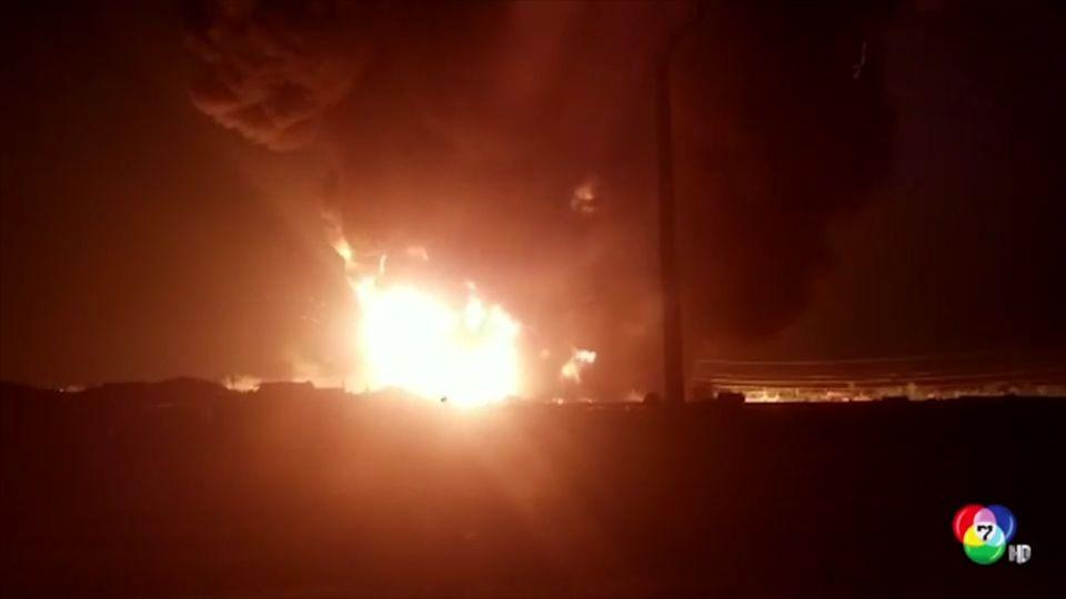 เพลิงไหม้รถบรรทุกน้ำมันที่อัฟกานิสถาน