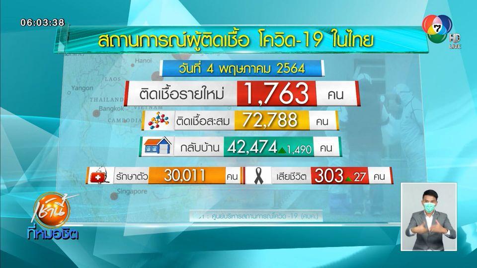 ยอดผู้เสียชีวิตโควิด-19 ในไทยพุ่งไม่หยุด