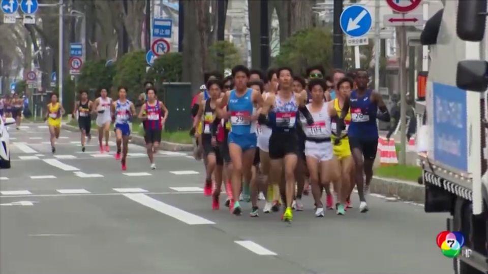 ญี่ปุ่นจัดทดสอบสนามวิ่งมาราธอนโอลิมปิก