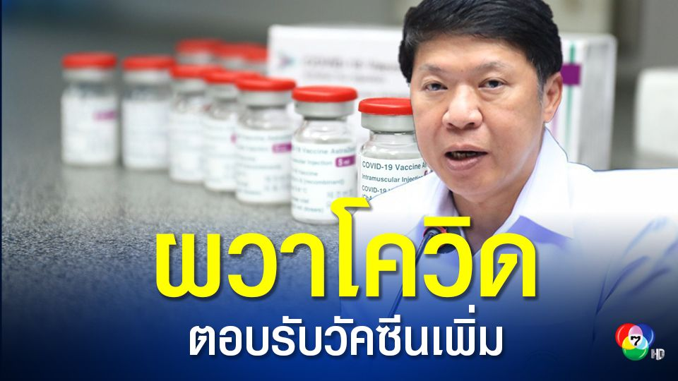 อนามัยโพลเผยคนไทยผวาโควิด ความต้องการฉีดวัคซีนพุ่ง