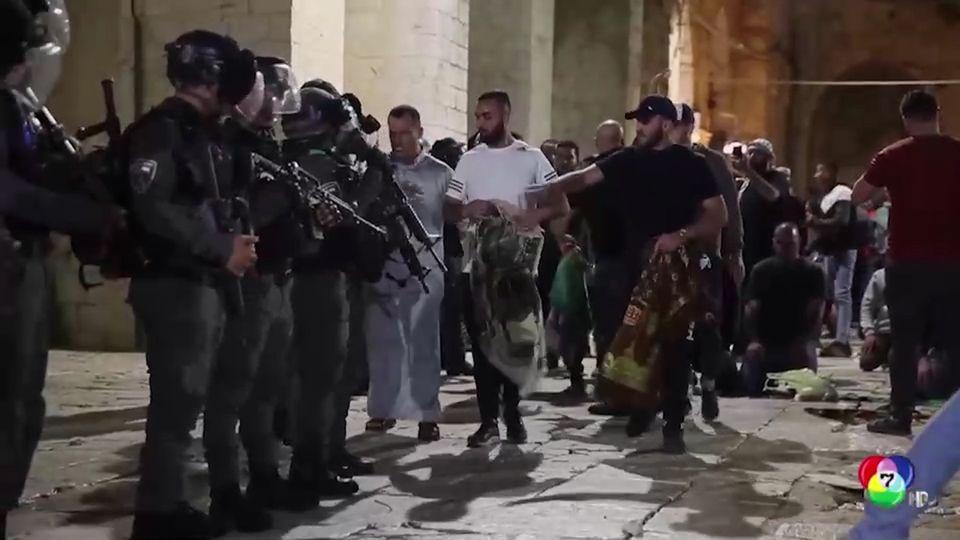 เกิดเหตุปะทะในนครเยรูซาเลม บาดเจ็บนับร้อยคน