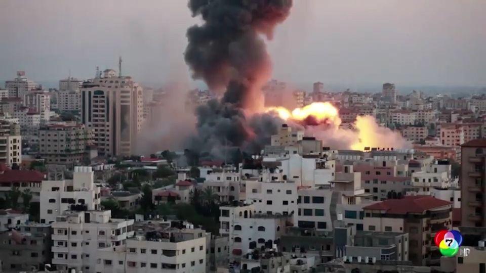 ยอดผู้เสียชีวิตอิสราเอล-ปาเลสไตน์ พุ่ง 130 คน