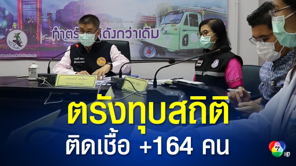 ตรังอ่วม ติดเชื้อโควิดอีก 164 คน คลัสเตอร์โรงงานผลิตถุงมือยาง ทยานขึ้นอันดับ 4 ของประเทศ
