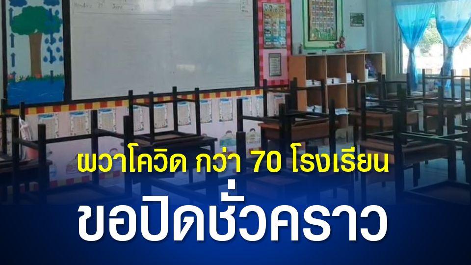 โรงเรียนโคราช 79 แห่ง ขอปิดเรียนชั่วคราว หลังพบครู ผู้ปกครองและนักเรียน ติดเชื้อจำนวนมาก