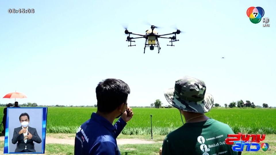กล้าลองกล้าลุย : ทีมโดรนเกษตร อาชีพทำเงินในยุค Smart Farm จ.พิษณุโลก