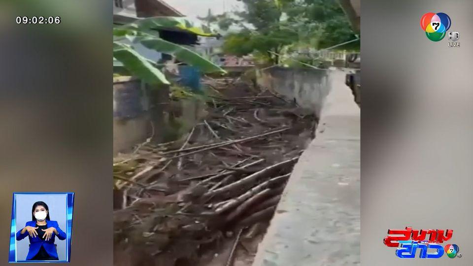 ภาพเป็นข่าว : ระทึก! น้ำป่าไหลหลากผ่านหมู่บ้าน จ.เพชรบูรณ์
