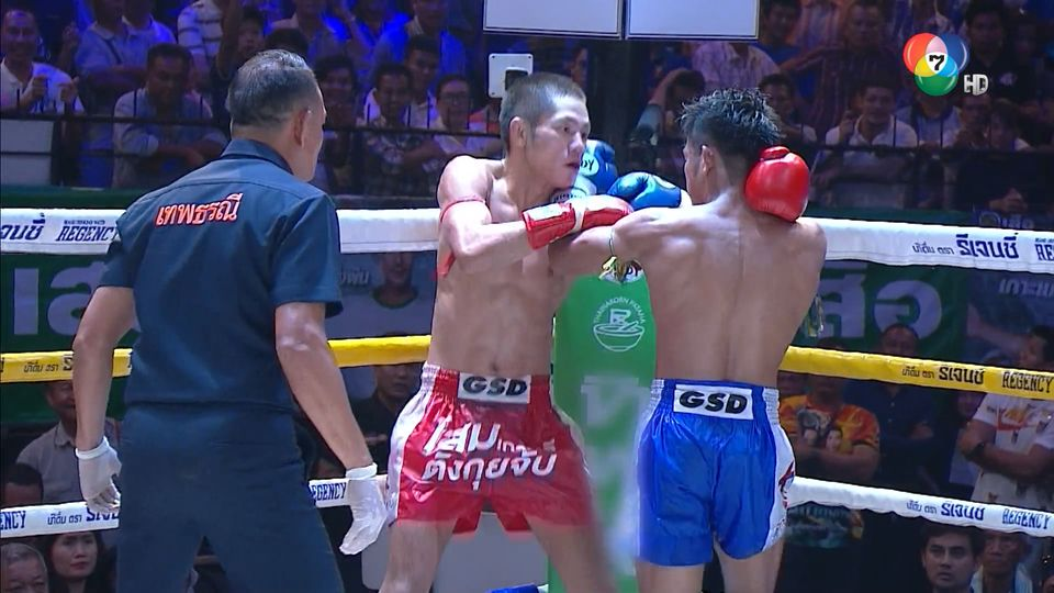 ช็อตเด็ดแม่ไม้มวยไทย 7 สี : 24 ก.ค.64 ก้องเกียรติ ท.พราน 49 vs มังกรทอง ศักดิ์บุรีรัมย์