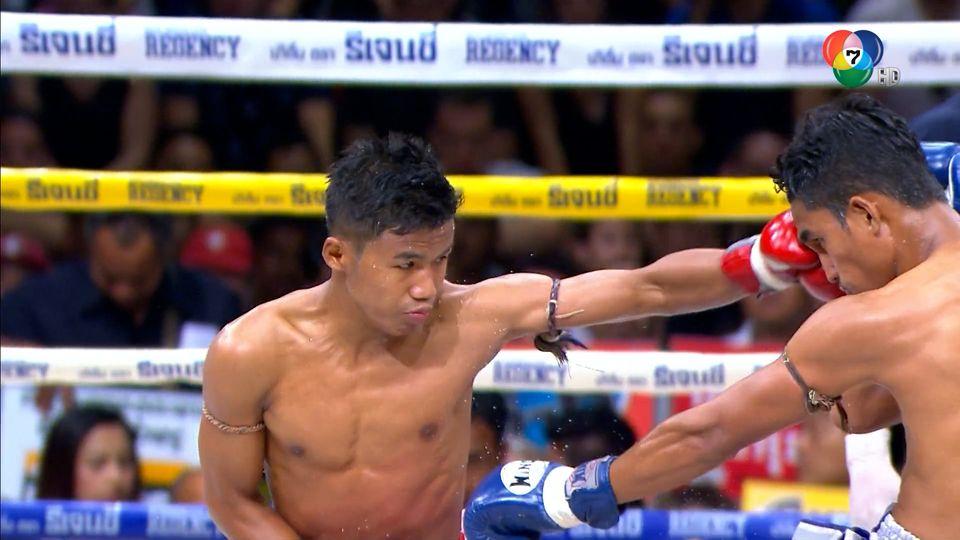 ช็อตเด็ดแม่ไม้มวยไทย 7 สี : 27 ก.ค.64 เหนือเพชร กีล่าสปอร์ต vs โล่เงินเล็ก ส.สุพัตรายิม
