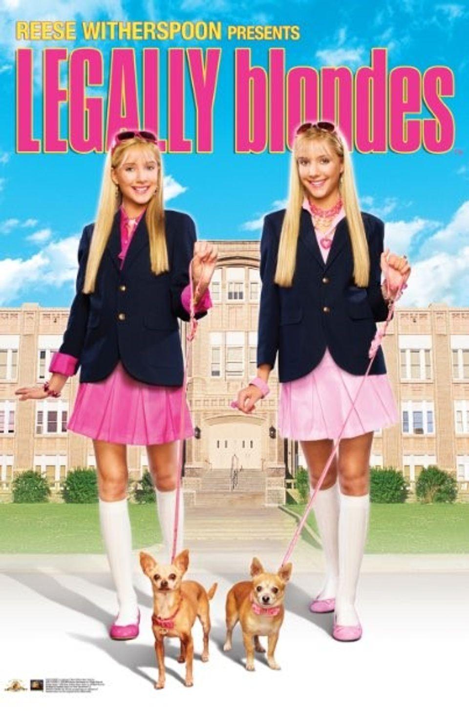 """ภ.ฝรั่ง """"ลีกัลลี่ บลอนด์ 3 สาวบลอนด์ค่ะ ดี๊ด๊าคูณสอง""""(LEGALLY  BLONDES)"""
