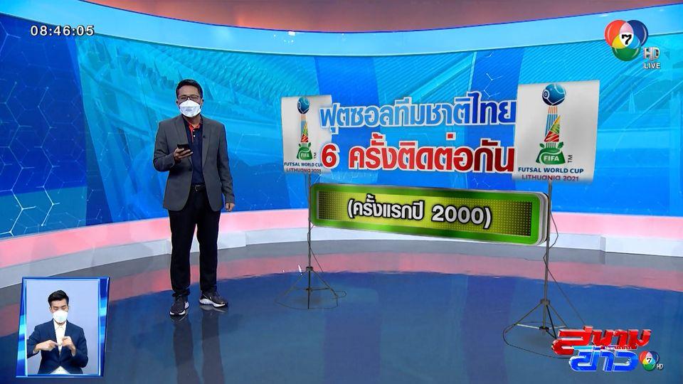 ผลงานทีมชาติไทย ในการแข่งขันฟุตซอลชิงแชมป์โลก
