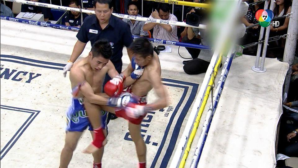 ช็อตเด็ดแม่ไม้มวยไทย 7 สี : 14 ก.ย.64 ก้องเกียรติ ท.พราน 49 vs เพิ่มศิริ เกียรติประภัทร