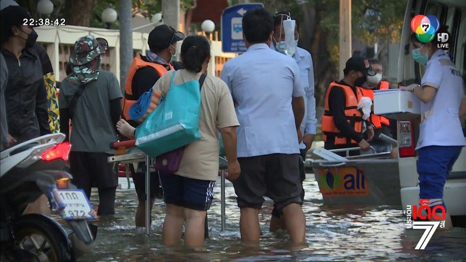 รายงานพิเศษ : รพ.ชัยภูมิ สู้วิกฤตน้ำท่วม