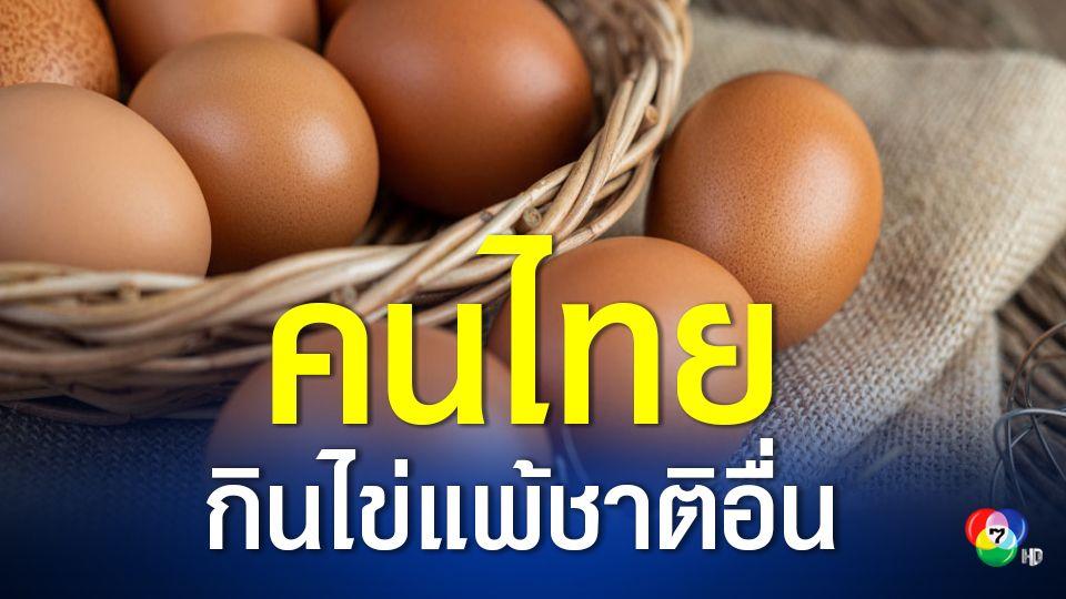 คนไทยกินไข่น้อย ตั้งเป้า ปี 66 ดันให้ได้ปีละ 300 ฟองต่อคน