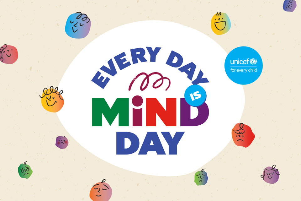 """ยูนิเซฟออกแคมเปญ """"Every Day is Mind Day โอกาสพักใจมีได้ทุกวัน"""" เพื่อช่วยวัยรุ่นในประเทศไทยรับมือกับปัญหาสุขภาพจิต"""