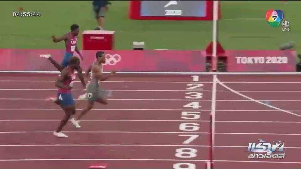 กีฬาโอลิมปิกอื่นๆ (4 ส.ค.) อันเดร เดอ กราส คว้าเหรียญทองวิ่ง 200 เมตรชาย