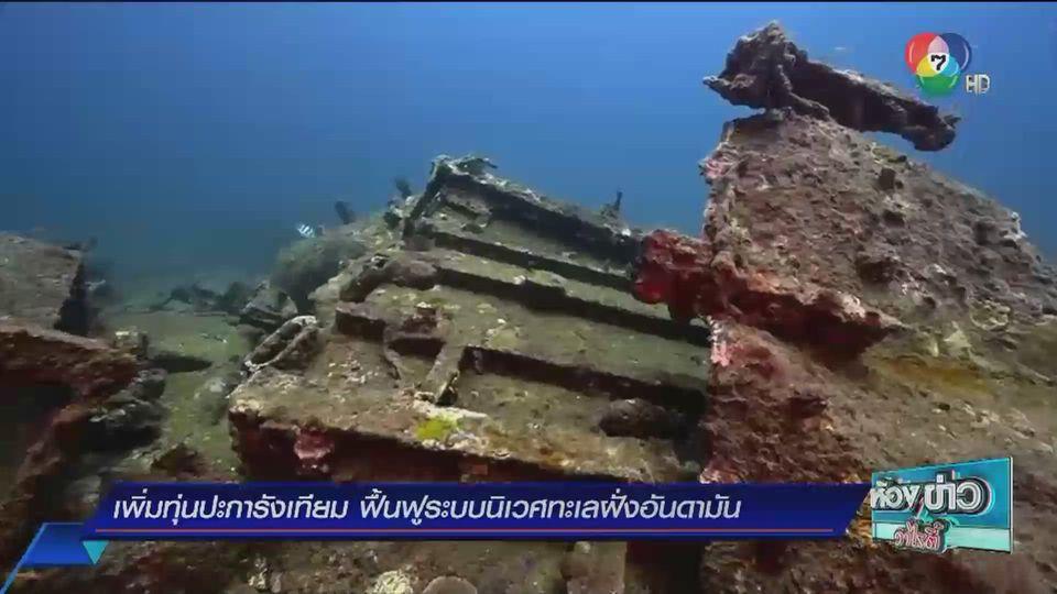รายงานพิเศษ : เพิ่มทุ่นปะการังเทียม 3 มิติ ฟื้นฟูระบบนิเวศทะเลอันดามัน