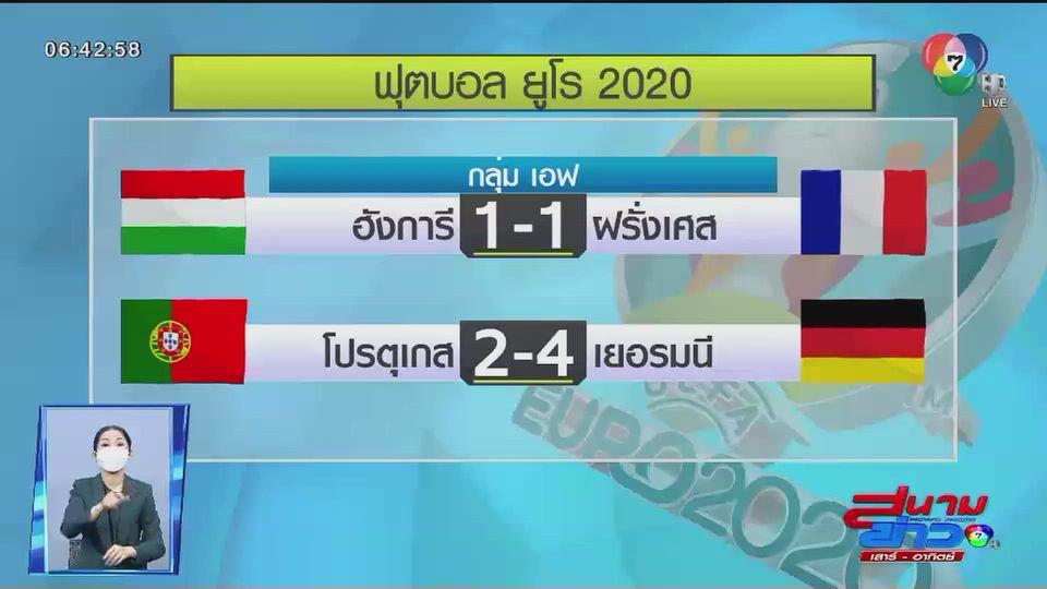 เยอรมนี ชนะ โปรตุเกส เก็บ 3 คะแนนแรกฟุตบอลยูโร 2020