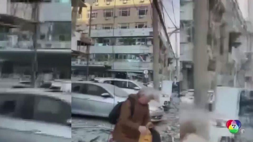 ก๊าซระเบิดที่ร้านอาหารในจีน เสียชีวิต 3 คน