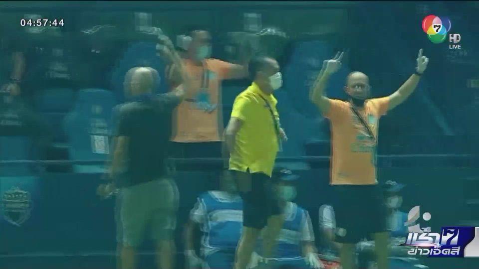 ฟุตบอลไทย ลีก บุรีรัมย์ฯ เปิดบ้านชนะ แบงค็อกฯ กลับขึ้นมารั้งอันดับ 2