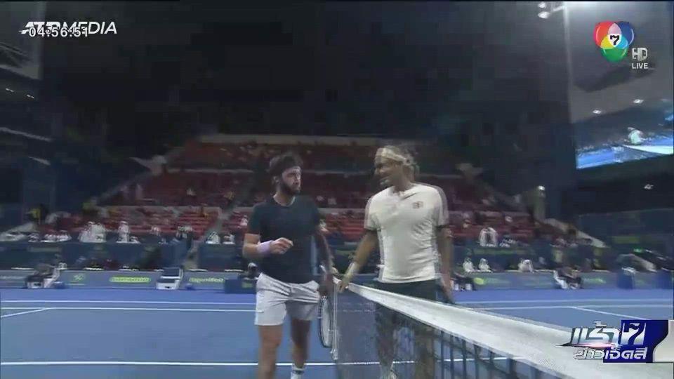 เฟเดอเรอร์ ตกรอบก่อนรองฯ เทนนิสกาตาร์ โอเพ่น