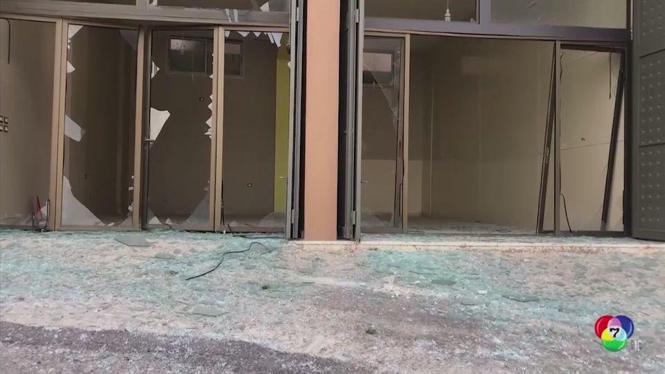 เกิดเหตุระเบิดคลังอาวุธของกลุ่ม ฮิซบอลเลาะห์ ในเลบานอน
